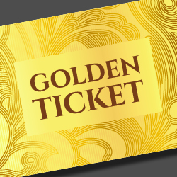 Golden Ticket St. Patrick's Day Sale