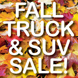 FALL TRUCK & SUV SALE!