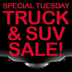 Special Tuesday Truck & SUV Sale!